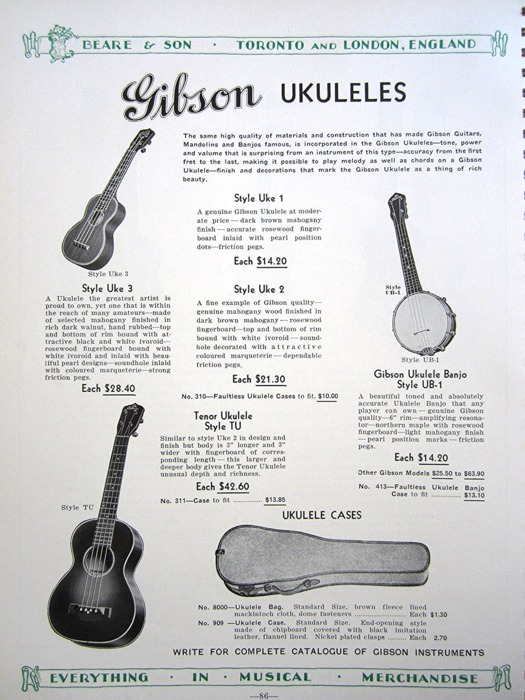 Gibson Pre-War Guitars, Kevin Mark Designs - 1936-37 Beare