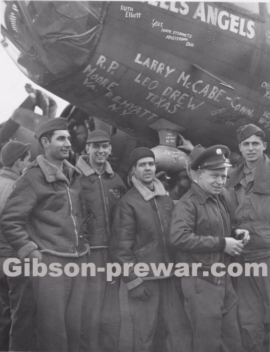 Gibson Pre-War Guitars, Kevin Mark Designs - WWII Hells Angels
